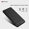 Eiroo Carbon Shield Xiaomi Mi 6 Ultra Koruma Siyah Kılıf - Resim 5