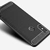 Eiroo Carbon Shield Xiaomi Mi 8 SE Ultra Koruma Dark Silver Kılıf - Resim 2