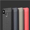 Eiroo Carbon Shield Xiaomi Mi 8 SE Ultra Koruma Dark Silver Kılıf - Resim 4