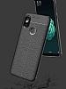 Eiroo Carbon Shield Xiaomi Mi 8 SE Ultra Koruma Dark Silver Kılıf - Resim 3