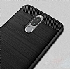 Eiroo Carbon Shield Huawei Mate 10 Lite Ultra Koruma Lacivert Kılıf - Resim 1