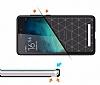 Eiroo Carbon Shield Xiaomi Redmi Note 3 Pro Ultra Koruma Siyah Kılıf - Resim 1