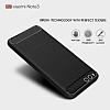 Eiroo Carbon Shield Xiaomi Mi Note 3 Ultra Koruma Gri Kılıf - Resim 2