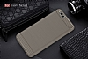 Eiroo Carbon Shield Xiaomi Mi Note 3 Ultra Koruma Gri Kılıf - Resim 7