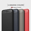 Eiroo Carbon Shield Xiaomi Mi Note 3 Ultra Koruma Gri Kılıf - Resim 6