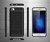 Eiroo Carbon Shield Xiaomi Redmi 4A Ultra Koruma Dark Silver Kılıf - Resim 6