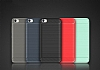 Eiroo Carbon Shield Xiaomi Redmi 4A Ultra Koruma Dark Silver Kılıf - Resim 7