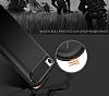 Eiroo Carbon Shield Xiaomi Redmi 4A Ultra Koruma Dark Silver Kılıf - Resim 3