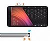 Eiroo Carbon Shield Xiaomi Redmi Note 4 / Redmi Note 4X Ultra Koruma Siyah Kılıf - Resim 1