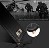 Eiroo Carbon Shield Samsung Galaxy J5 2016 Ultra Koruma Siyah Kılıf - Resim 4