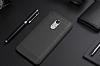 Eiroo Carbon Shield Xiaomi Redmi Note 4 / Redmi Note 4X Ultra Koruma Dark Silver Kılıf - Resim 6