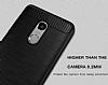Eiroo Carbon Shield Xiaomi Redmi Note 4 / Redmi Note 4X Ultra Koruma Dark Silver Kılıf - Resim 1