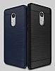 Eiroo Carbon Shield Xiaomi Redmi Note 4 / Redmi Note 4X Ultra Koruma Dark Silver Kılıf - Resim 5