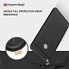 Eiroo Carbon Shield Xioami Mi Max 2 Ultra Koruma Siyah Kılıf - Resim 6
