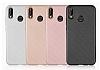 Eiroo Carbon Thin Huawei P20 Lite Ultra İnce Siyah Silikon Kılıf - Resim 5