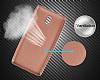 Eiroo Carbon Thin Nokia 3 Ultra İnce Rose Gold Silikon Kılıf - Resim 3