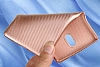 Eiroo Carbon Thin Nokia 3 Ultra İnce Rose Gold Silikon Kılıf - Resim 2