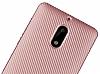 Eiroo Carbon Thin Nokia 6 Ultra İnce Rose Gold Silikon Kılıf - Resim 1