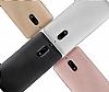 Eiroo Carbon Thin Nokia 6 Ultra İnce Gold Silikon Kılıf - Resim 4