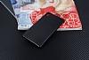 Eiroo Carbon Thin Sony Xperia M4 Aqua Ultra İnce Siyah Silikon Kılıf - Resim 1