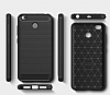 Eiroo Carbon Shield Xiaomi Redmi 4X Ultra Koruma Siyah Kılıf - Resim 3