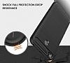 Eiroo Carbon Shield Xiaomi Redmi 4X Ultra Koruma Lacivert Kılıf - Resim 1