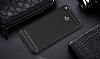 Eiroo Carbon Shield Xiaomi Redmi 4X Ultra Koruma Lacivert Kılıf - Resim 2