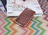 Eiroo Checker iPhone 6 Plus / 6S Plus Metalik Rose Gold Silikon K�l�f - Resim: 1