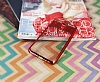 Eiroo Clear Thin Huawei Mate 10 Lite Kırmızı Kenarlı Şeffaf Silikon Kılıf - Resim 2