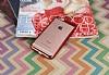 Eiroo Clear Thin iPhone 6 / 6S Kırmızı Kenarlı Şeffaf Rubber Kılıf - Resim 2