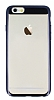 Eiroo Clear Thin iPhone 6 / 6S Siyah Kenarlı Şeffaf Rubber Kılıf - Resim 3