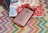 Eiroo Clear Thin iPhone 7 Plus / 8 Plus Kırmızı Kenarlı Şeffaf Rubber Kılıf - Resim 2