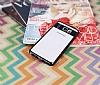 Eiroo Clear Thin Samsung Galaxy Note 5 Siyah Kenarlı Şeffaf Silikon Kılıf - Resim 2