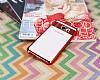 Eiroo Clear Thin Samsung Galaxy Note 5 Kırmızı Kenarlı Şeffaf Silikon Kılıf - Resim 1