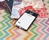 Eiroo Clear Thin Samsung Galaxy Note 4 Siyah Kenarlı Şeffaf Silikon Kılıf - Resim 2