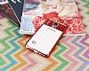 Eiroo Clear Thin Samsung Galaxy Note 4 Kırmızı Kenarlı Şeffaf Silikon Kılıf - Resim 1