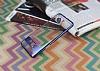 Eiroo Clear Thin Samsung Galaxy Note 8 Lacivert Kenarlı Şeffaf Rubber Kılıf - Resim 2