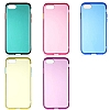 Eiroo Color Button iPhone SE 2020 Sarı Silikon Kılıf - Resim 2