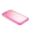 Eiroo Color Button iPhone SE 2020 Sarı Silikon Kılıf - Resim 1