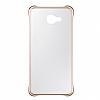 Eiroo Color Thin Samsung Galaxy A5 2016 Gold Rubber Kılıf - Resim 1