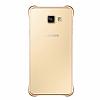 Eiroo Color Thin Samsung Galaxy A5 2016 Gold Rubber Kılıf - Resim 2
