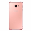 Eiroo Color Thin Samsung Galaxy A7 2016 Rose Gold Rubber Kılıf - Resim 2