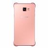 Eiroo Color Thin Samsung Galaxy A7 2016 Rose Gold Rubber Kılıf - Resim 2