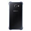 Eiroo Color Thin Samsung Galaxy A7 2016 Siyah Rubber Kılıf - Resim 3