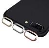 Eiroo Dust Plug iPhone 7 Plus / 8 Plus Siyah Koruma Seti - Resim 3