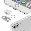 Eiroo Dust Plug iPhone 7 Plus / 8 Plus Siyah Koruma Seti - Resim 6