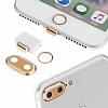 Eiroo Dust Plug iPhone 7 Plus / 8 Plus Siyah Koruma Seti - Resim 5
