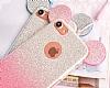 Eiroo Ear Sheenful iPhone 6 Plus / 6S Plus Kırmızı Silikon Kılıf - Resim 1