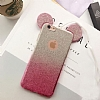 Eiroo Ear Sheenful iPhone SE / 5 / 5S Pembe Silikon Kılıf - Resim: 3