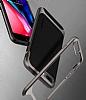 Eiroo Efficient iPhone 7 Plus / 8 Plus Kırmızı Kenarlı Ultra Koruma Kılıf - Resim 3